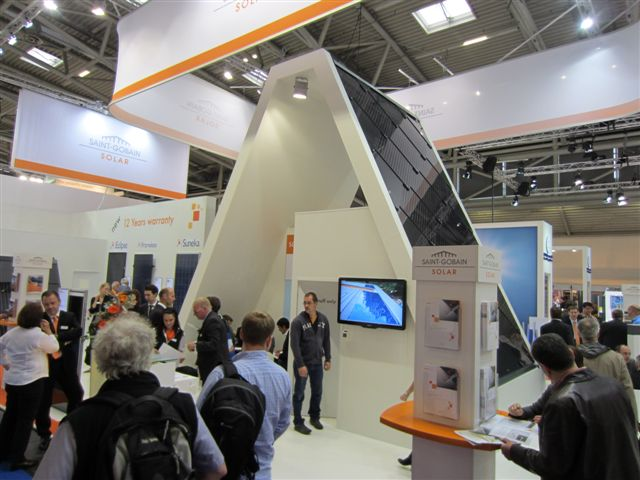 St. Gobain at Intersolar in Munich 2011
